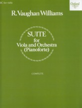 Vaughan Williams, R. : Suite for Viola and Orchestra. Reduction for Viola and Piano
