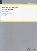 AA.VV. : Musica antica portoghese, vol. I per Clavicembalo (Kastner)