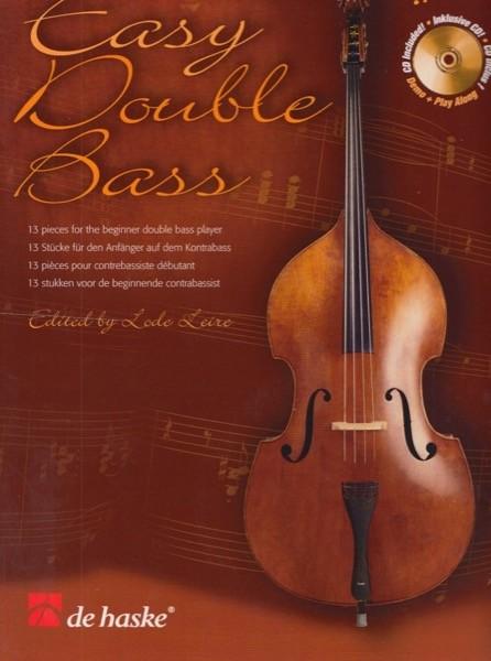 AA.VV. : Easy Double bass: 13 pezzi per principianti di Contrabbasso