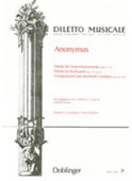 Anonimo (XVII sec.) : Composizioni per stumenti a tastiera (Scarpa)
