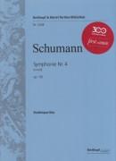 Schumann, R. : Sinfonia n. 4. Partitura tascabile. Urtext
