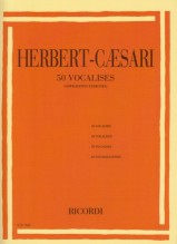 Herbert - Caesari, E. : 50 Vocalizzi