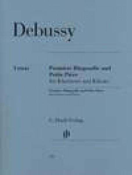 Debussy, Claude : Premiere Rhapsodie and Petite Piece, per Clarinetto e Pianoforte. Urtext