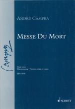 Campra, A. : Messe de Mort, per Canto e Organo