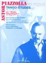 Piazzolla, Astor : Tango - Etudes, per Sax alto (Clarinetto) e Pianoforte