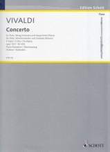 Vivaldi, Antonio : Concerto per Flauto, Archi e Basso Continuo op. 10, n. 1 La Tempesta di mare, riduzione per Flauto e Pianoforte