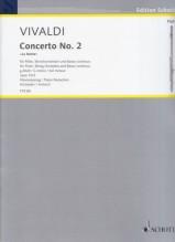 Vivaldi, Antonio : Concerto per Flauto, Archi e Basso Continuo op. 10, n. 2 La Notte, riduzione per Flauto e Pianoforte