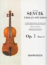 Sevcik, O. : Op. 7 parte 1. Esercizi preparatori di trillo, per Violino