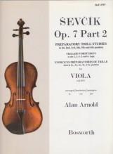 Sevcik, O. : Op. 7 parte 2. Esercizi preparatori di trillo per Viola