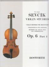 Sevcik, O. : Op. 6 parte 4. Metodo di Violino per principianti