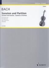 Bach, J.S. : Sonate e Partite BWV 1001-1006, per Violino