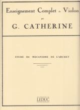 Catherine, G. : Studi del meccanismo dell'arco, per Violino
