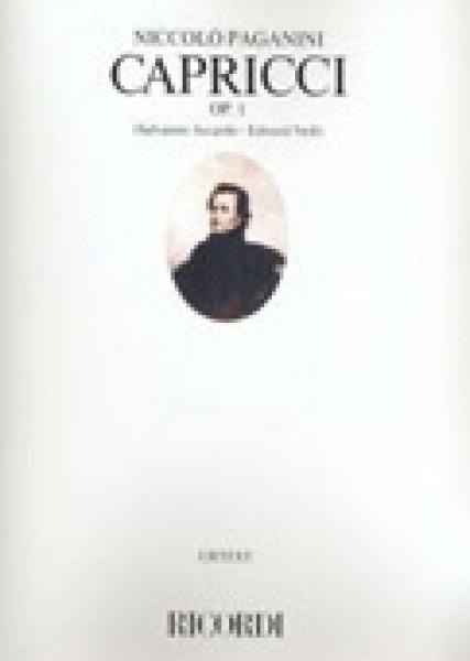 Paganini, Niccolò : 24 Capricci op. 1, per Violino. Urtext