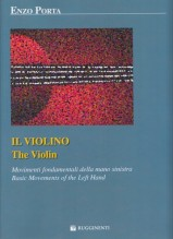 Porta, E. : Il violino. Movimenti fondamentali della mano sinistra