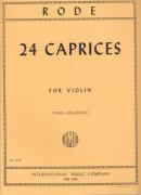 Rode, J.P.J. : 24 Capricci per Violino