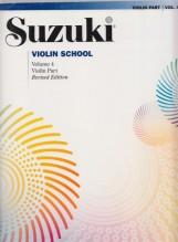 Suzuki : Violin School, vol. 4. Violin Part