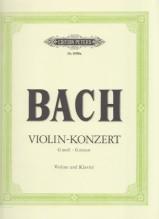 Bach, J.S. : Concerto BWV 1056 in sol minore per Violino e Pianoforte