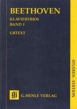 Beethoven, L. van : Klaviertrios, vol. 1. Partitura tascabile. Urtext
