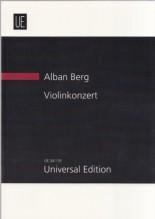 Berg, A. : Concerto per Violino e Orchestra. Partitura tascabile