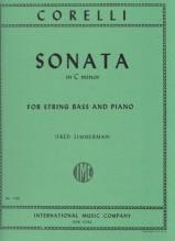 Corelli, A. : Sonata in do minore, per Contrabbasso e Pianoforte
