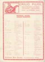 Vivaldi, Antonio : Concerto in la per Chitarra, Violino, Viola e Violoncello. Partitura + set parti