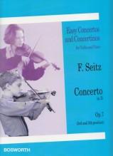 Seitz, F. : Concerto nr. 1 op. 7 in re, per Violino e Pianoforte