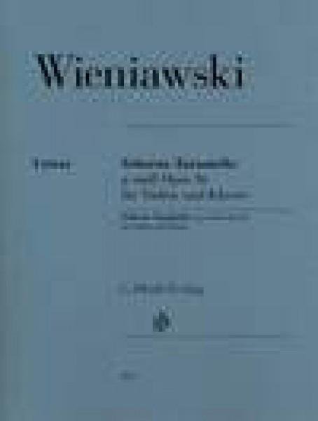 Wieniawski, H. : Scherzo-Tarantella op. 16, per Violino e Pianoforte. Urtext