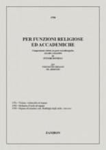 Bonelli, E. : Per funzioni religiose ed accademie: composizioni celebri, in parte extraliturgiche, per Violino e Organo (Bonelli)