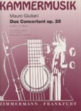 Giuliani, Mauro : Duo Concertante op. 25, per Chitarra e Violino