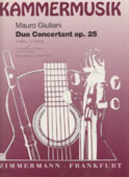 Giuliani, M. : Duo Concertante op. 25, per Chitarra e Violino