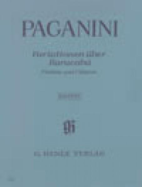 Paganini, Niccolò : 60 Variazioni sul Barucabà op. 14, per Chitarra e Violino. Urtext