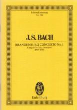 Bach, J.S. : Concerto brandeburghese nr. 1 BWV 1046. Partitura tascabile
