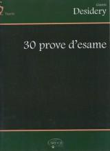 Desidery, G. : 30 Prove d'esame