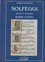 Desidery, G. : Solfeggi ritmici e melodici. Ramo canto