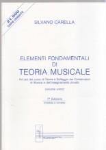 Carella, S. : Elementi fondamentali di teoria musicale
