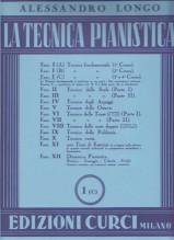 Longo, A. : La tecnica pianistica, fascicolo 1 (C). Tecnica fondamentale (3° e 4° Corso)