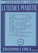 Longo, Alessandro : La tecnica pianistica, fascicolo 9. Tecnica della polifonia