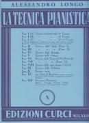 Longo, Alessandro : La tecnica pianistica, fascicolo 10. Tecnica varia