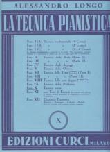 Longo, A. : La tecnica pianistica, fascicolo 10. Tecnica varia