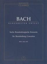 Bach, J.S. : 6 Concerti brandeburghesi BWV 1046-1051. Partitura tascabile. Urtext