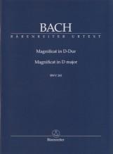 Bach, J.S. : Magnificat in re BWV 243, partitura tascabile. Urtext
