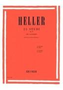 Heller, S. : 25 Studi per il ritmo e l'espressione op. 47, per Pianoforte