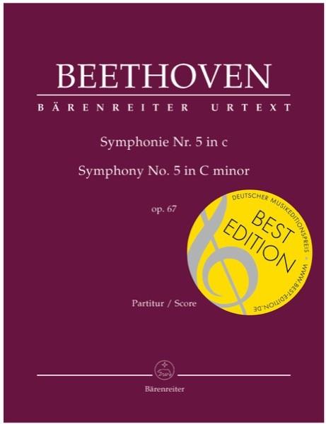 Beethoven, L. van : Sinfonia n. 5 in do minore, op. 67. Partitura. Urtext