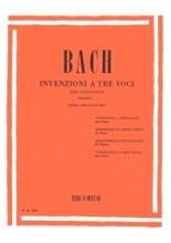 Bach, J.S. : Invenzioni a tre voci, per Pianoforte