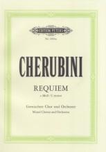 Cherubini, L. : Requiem in do minore, per Coro misto e Orchestra. Partitura tascabile