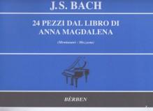 Bach, J.S. : 24 Pezzi dal Libro di Anna Magdalena, per Pianoforte