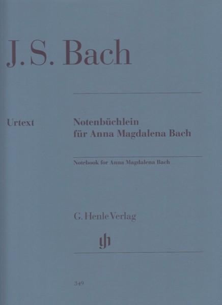 Bach, Johann Sebastian : Quaderno di Anna Magdalena, per Clavicembalo. Urtext