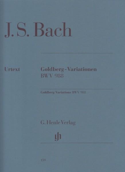 Bach, J.S. : Variazioni Goldberg BWV 988, per Clavicembalo. Urtext