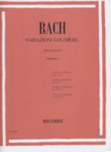 Bach, Johann Sebastian : Variazioni Goldberg BWV 988, per Pianoforte