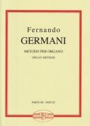 Germani, Fernando : Metodo per Organo, vol. 3
